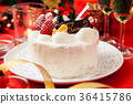 圣诞蛋糕 蛋糕 圣诞节 36415786