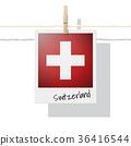 Photo of Switzerland flag 36416544