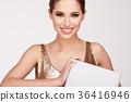 gift, female, woman 36416946