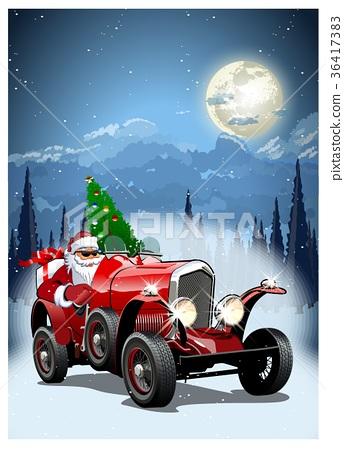 Vector Christmas Card 36417383