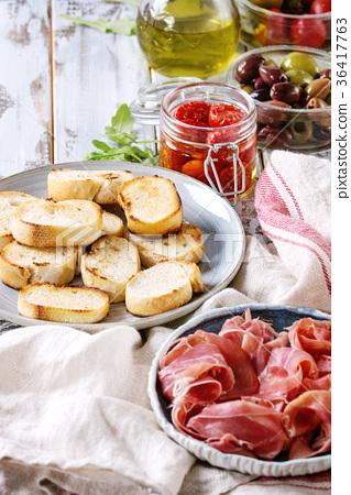Ingredients for tapas 36417763