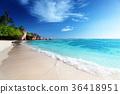 Anse Source d'Argent beach, La Digue, Seyshelles 36418951