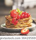 Homemade pancakes 36420569