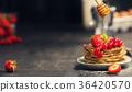 Homemade pancakes 36420570