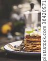 Homemade pancakes 36420571