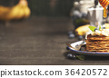 Homemade pancakes  36420572