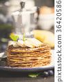 Homemade pancakes  36420586