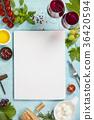Italian antipasti snack for wine. Caprese salad 36420594