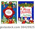 christmas, holiday, greeting 36420925
