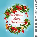 คริสต์มาส,คริสมาส,พวงมาลัย 36421650