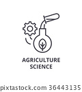 agriculture, science, icon 36443135