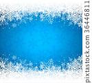 winter, snow, snowflake 36446811