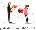 禮物 送禮 展示 36448441