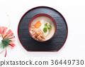 교토풍, 교토식, 일본 떡국 36449730