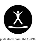 jumping Trampoline  icon 36449896