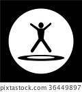 jumping Trampoline  icon 36449897