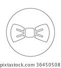 Bow Tie icon 36450508