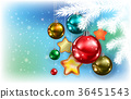 christmas, background, abstract 36451543