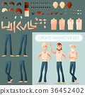Create man character set 36452402