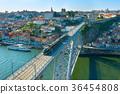 Porto Old Town skyline, Portugal 36454808