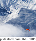 mountain, paragliding, flying 36456005