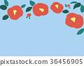 camellia japanese flower 36456905
