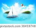 background beach island 36459748