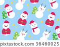 คริสต์มาส,ตุ๊กตาหิมะ,ซานต้า 36460025
