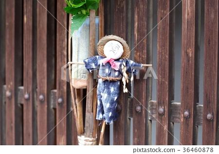 Tsumajuku: Scarecrow figurines 36460878