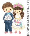 婚禮 花童 花籃 36463814