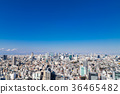 Tokyo city view Blue sky and cityscape 36465482