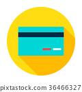 Credit Card Circle Icon 36466327