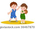 籃球進攻和防守 36467870
