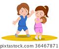 籃球進攻與防守女籃 36467871