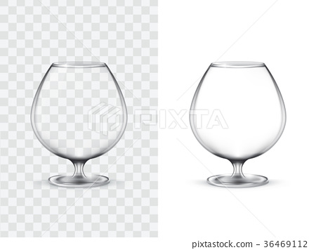 Realistic glasses for alcohol 36469112