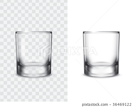 Realistic drinking glasses 36469122