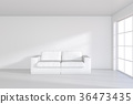 white, sofa, room 36473435