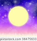 滿月 月亮 月 36475633