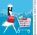 Christmas shopping 36477202
