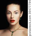 Fashion beauty girl. Makeup, fashion concept. Spa 36477794