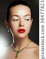 Fashion beauty girl. Makeup, fashion concept. Spa 36477823