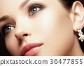 Fashion beauty girl. Makeup, fashion concept. Spa 36477855