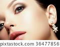 Fashion beauty girl. Makeup, fashion concept. Spa 36477856