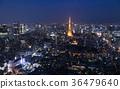 도쿄타워, 동경 타워, 야경 36479640