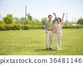 an elderly couple life, very harmoniously like newlyweds 323 36481146