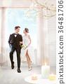 Shining honeymoon life, lover concept graphic design 003 36481706