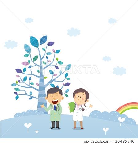 Hospital illustrations 36485946