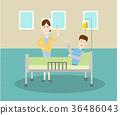 Injection Illustration 36486043