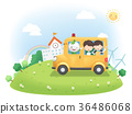 Electric Vehicle Promotion Vector Illustration 36486068