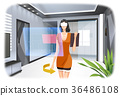 Virtual Reality Experience Vector Illustration 36486108